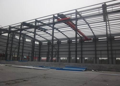 一层厂房钢结构施工组织设计方案
